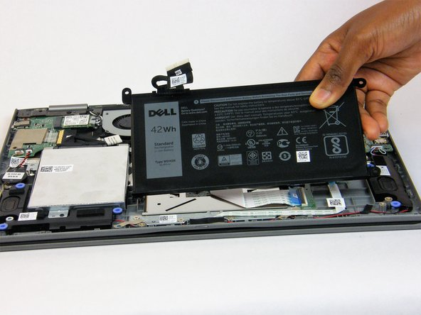 Dell Inspiron 13-5368 Battery Replacement