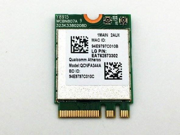 Acer Aspire V5-591G-75KE Wireless Card Replacement
