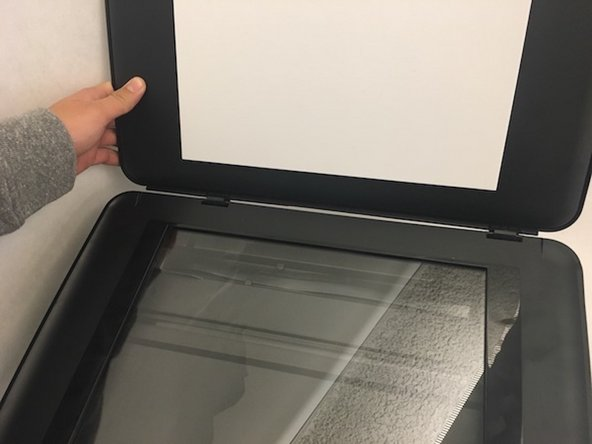 HP Envy 5660 Scanner Cover Replacement