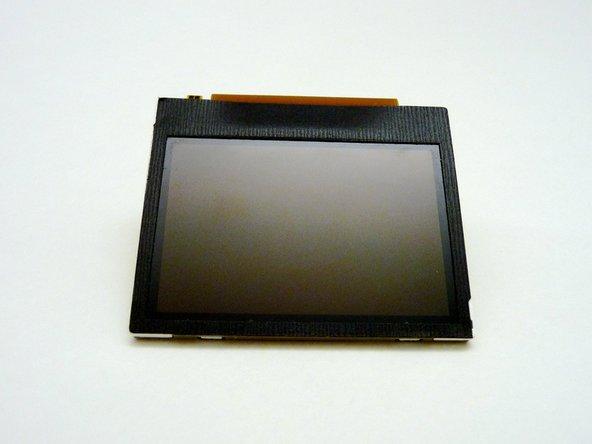 现在你能清理或者更换你的LCD屏幕了。