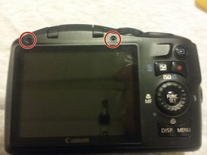 canon PowerShot SX150 IS Teardown