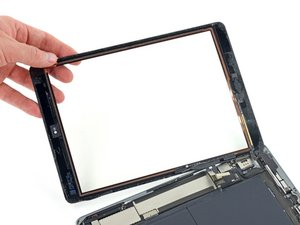 iPad Air LTE Front Panel Assembly Replacement