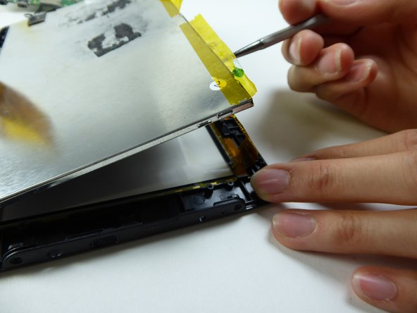 Replace the LCD.