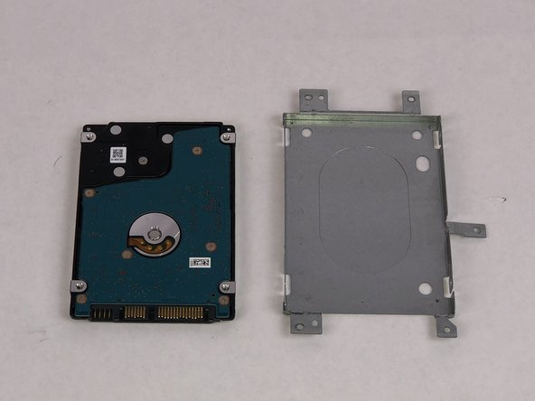 Remove the hard drive from the casing and replace it.