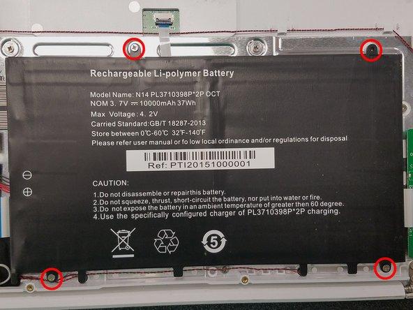 Vulcan Venture II Battery Replacement