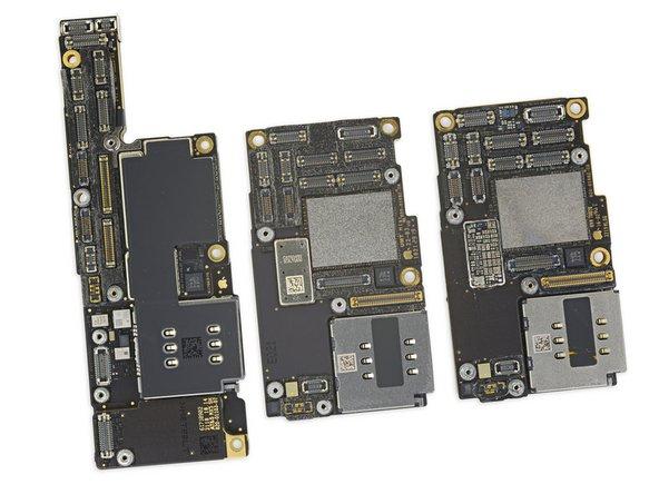 이중으로 보입니까? 걱정 마세요, 우리도 두 개로 보입니다! iPhone 11 Pro Max 보드는 iPhone 11 Pro와 동일한 구조로 보입니다!