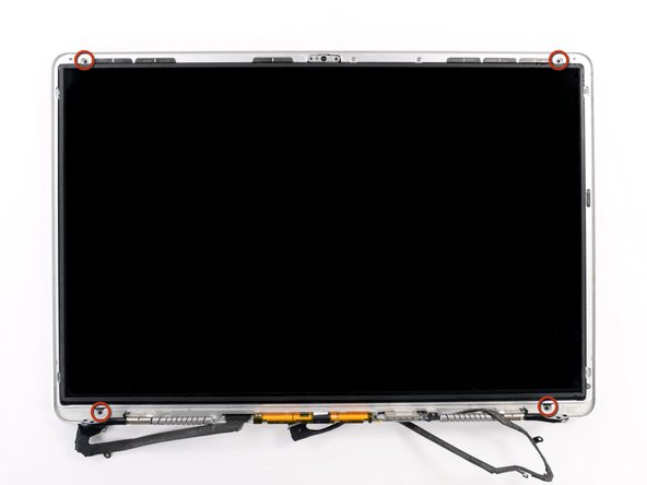Image 1/1: Remove the four 2.3 mm Phillips #00 screws securing the LCD to the rear display bezel.