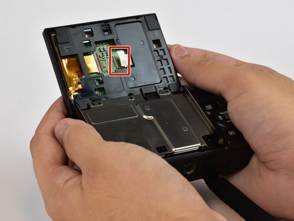 Remove Back panel from LCD screen.
