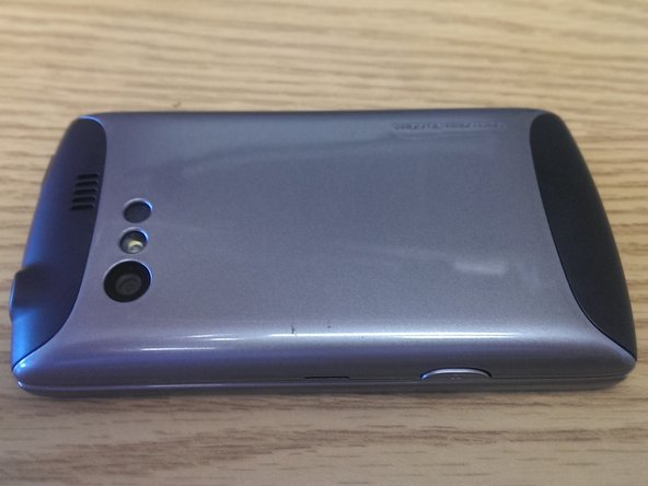 The Kyocera Rise has a removable back