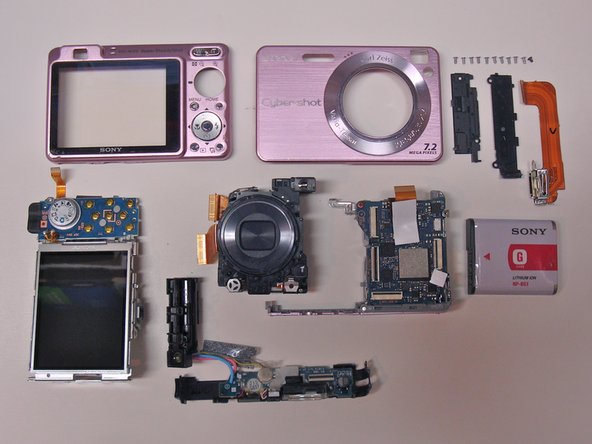 You're done!  The camera is now disassembled into its basic components.  When you consider how much repair shops charge for labor on cameras, it isn't really that difficult to open it up and replace parts yourself.