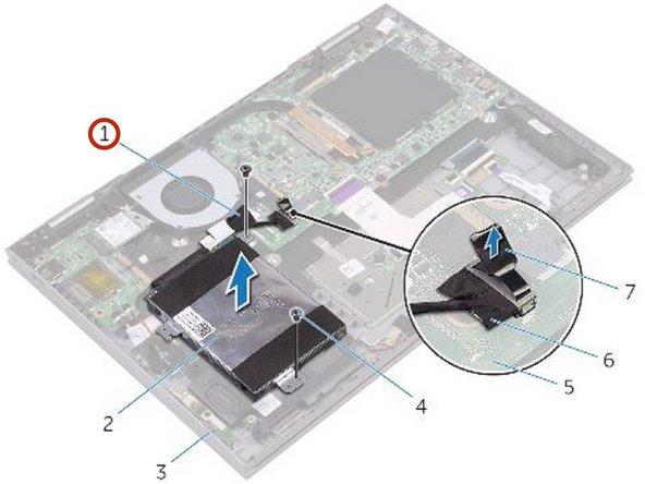 Dell Inspiron 5379 Reemplazo del Disco Duro