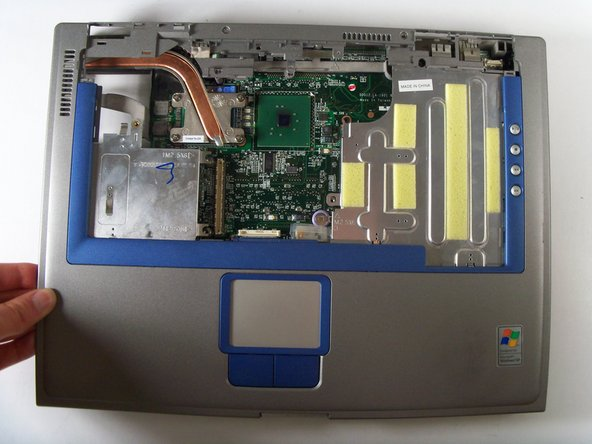 Dell Inspiron 8600 Upper Case Replacement