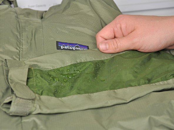 Patagonia winter coat repair guides