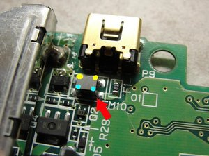 Repairing a Nintendo DS that is not charging