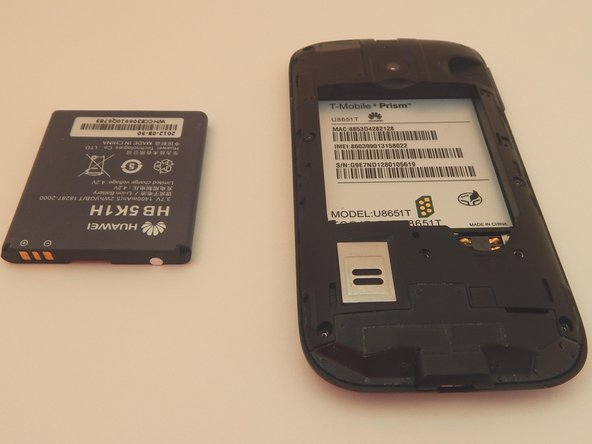 Image 3/3: Remove the battery.