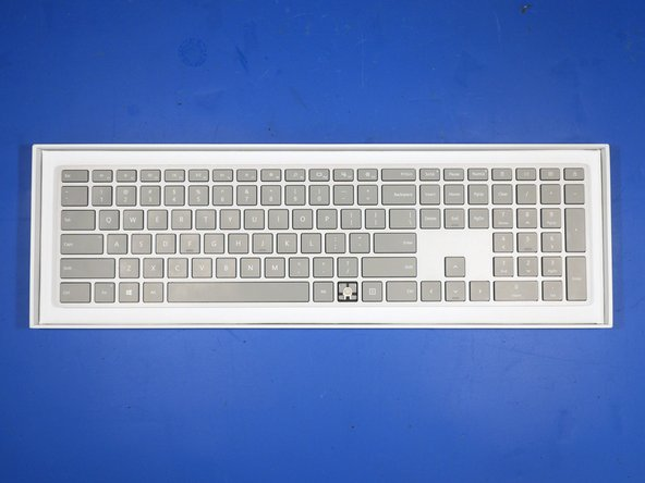 Microsoft Surface Keyboard (WS2-00025) Teardown