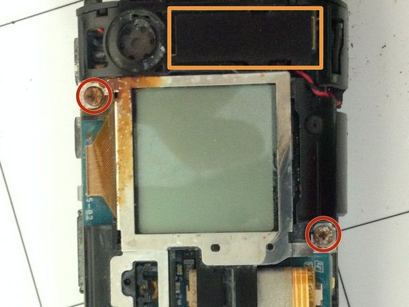 Sony HDR-AS30V LCD Screen Replacement
