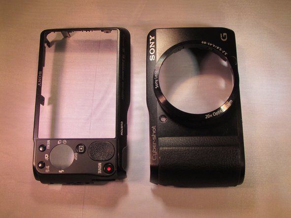 Sony Cyber-shot DSC-HX20V Outer Case Replacement