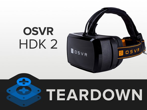 Let's take a quick look at the OSVR HDK 2's specs and peripherals: