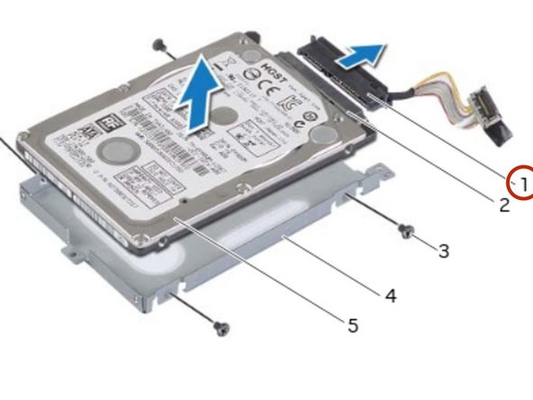 Connect the interposer to the primary hard-drive connector.