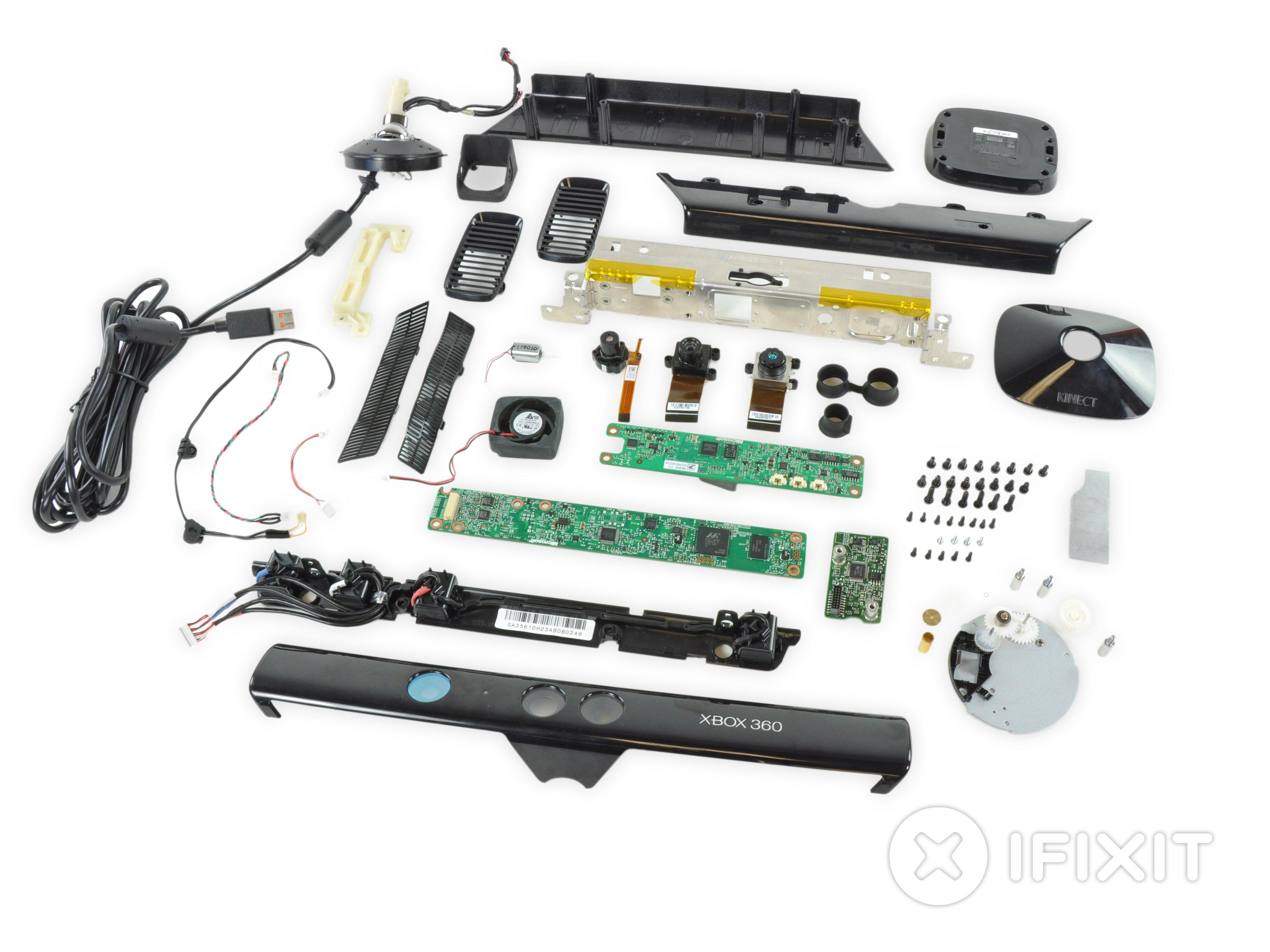 Xbox 360 Kinect Teardown - iFixit Xbox Diagram Wiring Explaination on