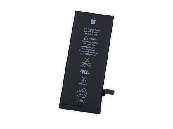 "Image 1/2: Apple preaches that this 28-gram (3.75"" x 1.5"" x 0.13"") power pack will let you talk for up to 14 hours on 3G and offers 250 hours of standby time."