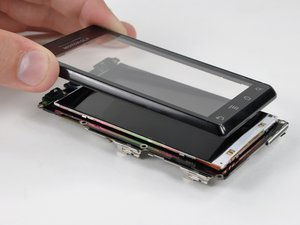 Motorola Droid 2 Front Panel Replacement