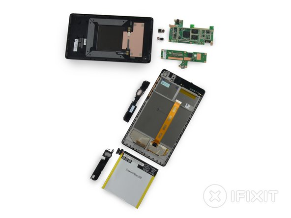 Nexus 7 2nd Generation Teardown