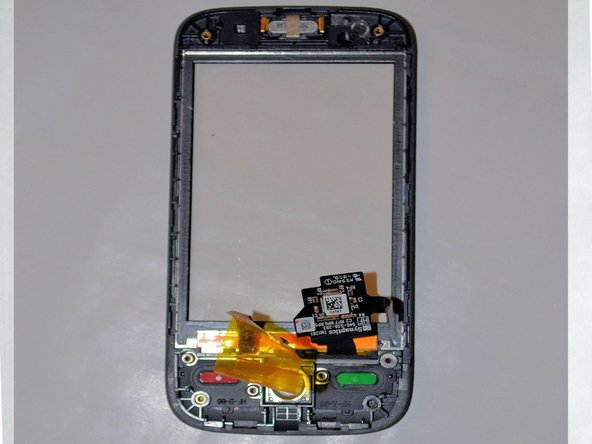 After prying off the LCD screen with the plastic opening tool you will be able to replace the front screen.