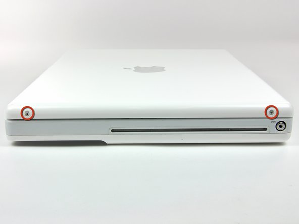 "iBook G4 12"" 800 MHz-1.2 GHz Rear Display Bezel Replacement"