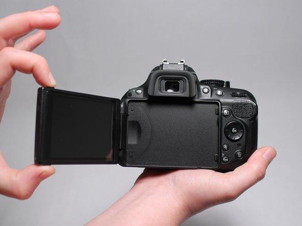 Nikon D5200 Screen Replacement - iFixit Repair Guide