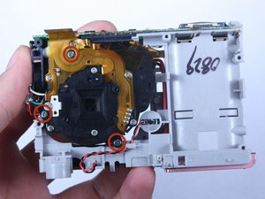 Kodak Easyshare C813 Lens Replacement