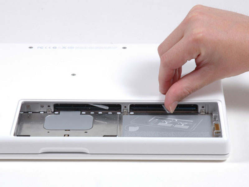 macbook core 2 duo ram replacement ifixit repair guide rh ifixit com A1181 LCD Backlight 2007 MacBook White A1181