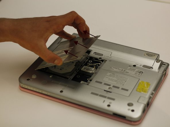 Image 2/2: Gently lift the panel off.