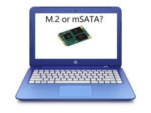 Apertura HP Stream 13 per aggiornare il SSD PCIe