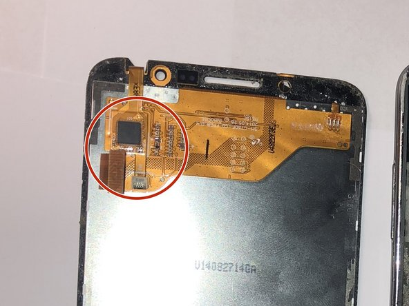 Locate the LCD/Digitizer.