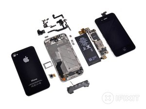 iphone 4s teardown ifixit rh ifixit com iphone 4s screws diagram iphone 4s motherboard diagram