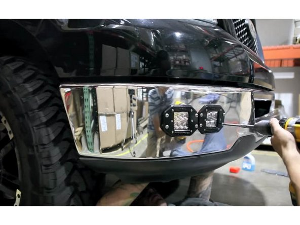 Insert in your new LED Pod Lights and screw it in tightly to your truck.