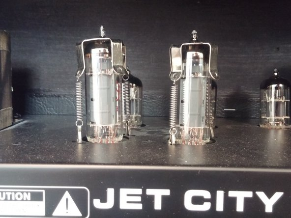 Jet City Custom 22  Power Tube Replacement