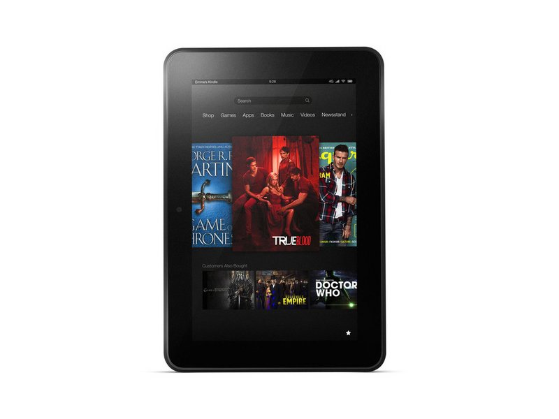 How do you factory reset with hard keys? - Kindle Fire HD 8 9