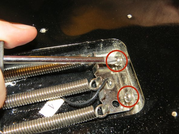 Fender Starcaster Bridge Replacement