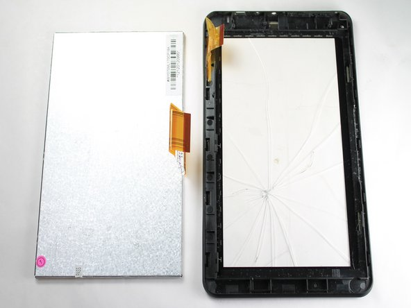 Fully remove the LCD from the digitizer.