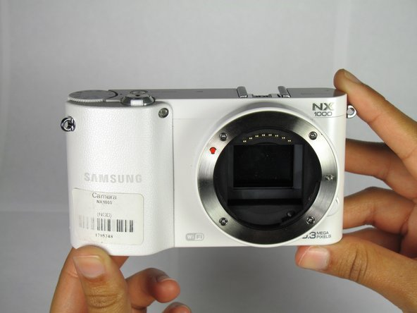 Samsung NX1000 Front Lens Cover Replacement