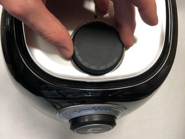 Chefman RJ38-V2-35 Repair Temperature Knob  Replacement