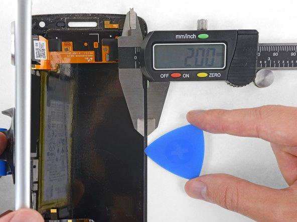 وارد کردن ابزار را کمتر از 2 میلیمتر