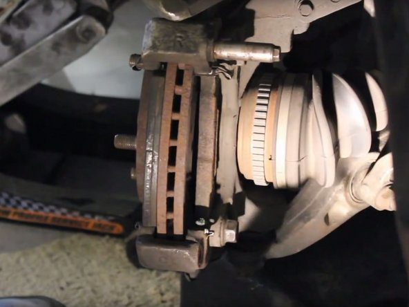 1996-2000 Honda Civic Brake Replacement