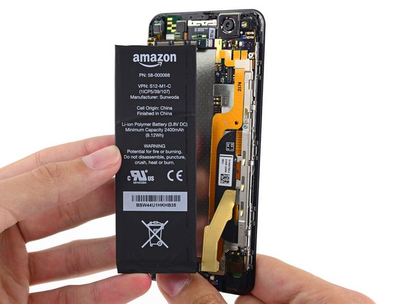 Image 1/3: It may not be an [http://en.wikipedia.org/wiki/Eternal_flame|eternal flame|new_window=true], but Amazon claims this 2400 mAh battery is good for up to 285.5 hours of standby, 22 hours of talk time, or 8.5 hours of web browsing over Wi-Fi.