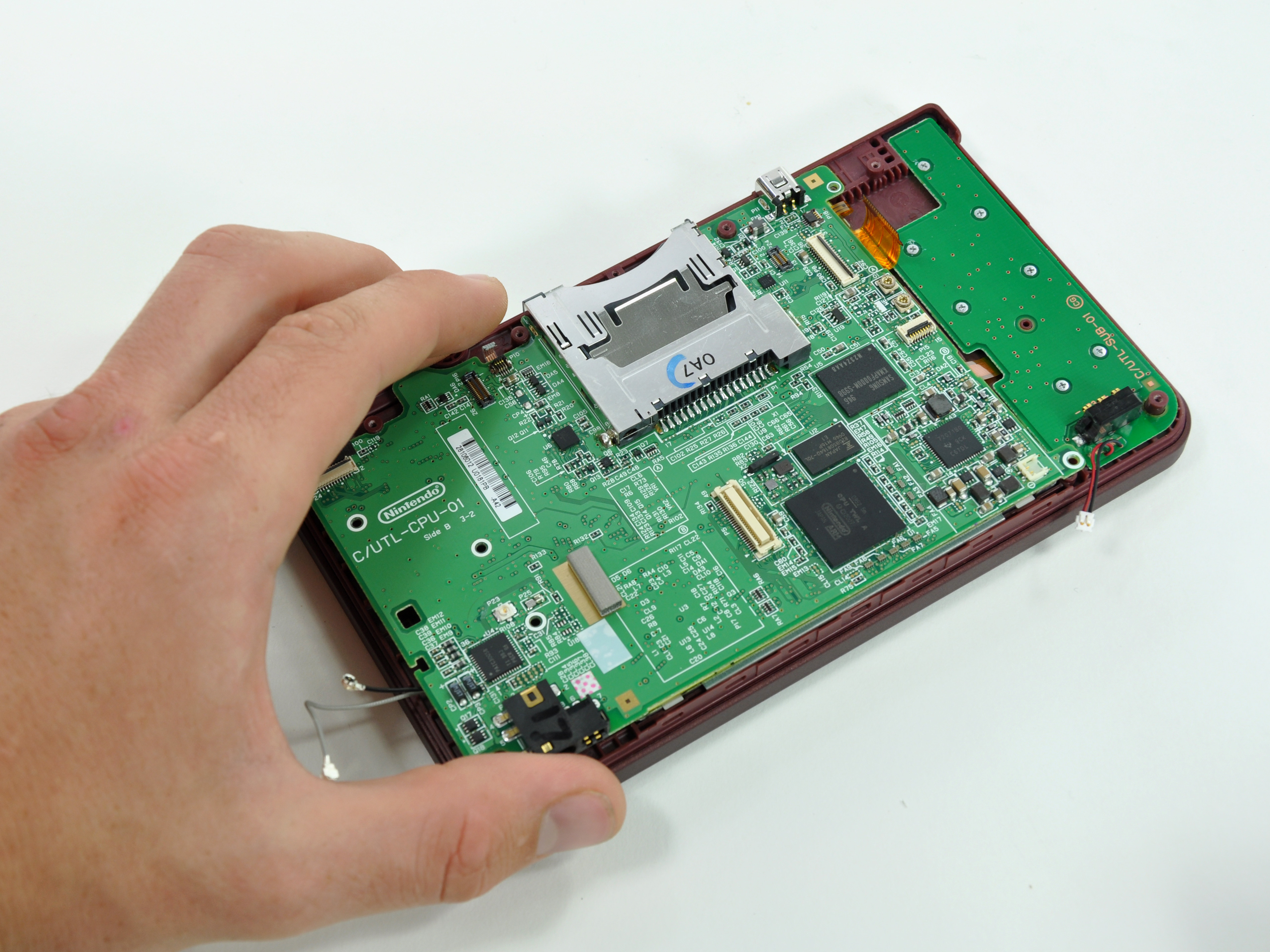 dsi xl repair ifixitnintendo dsi xl motherboard replacement