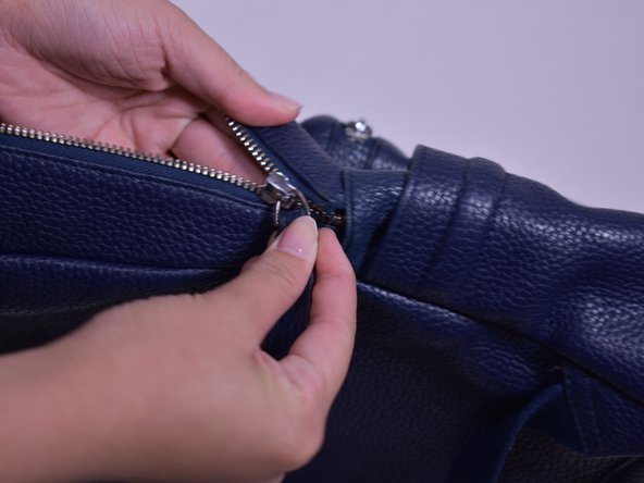 How To Re Align The Zipper On A Backpack Ifixit Repair Guide
