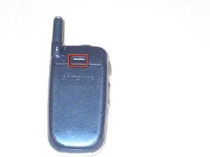 Démontage de la batterie du Samsung SPH-A760